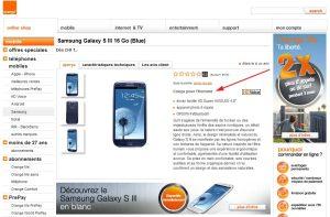 Samsung Galaxy S3: pour l'homme.