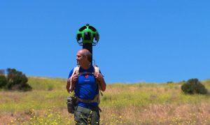 Google Street View Trekker.