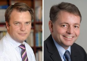 Johann Andsjö et Thomas Sieber.