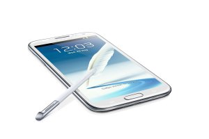 Le Galaxy Note II, compatible LTE.