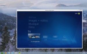 Le Media Center de Windows 8.