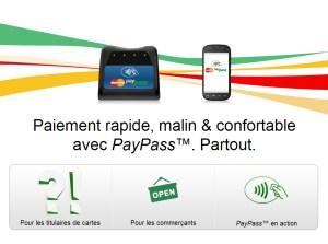 NFC: payer sans contact avec sa carte de crédit ou son mobile.