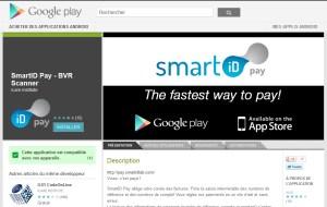 L'application Smart ID Pay.