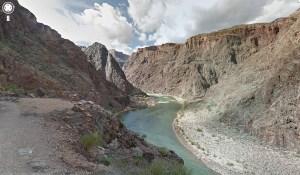 Le Grand Canyon avec Google Maps.