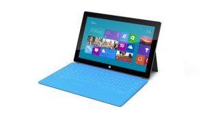 Microsoft Surface Windows RT avec Touch Cover.