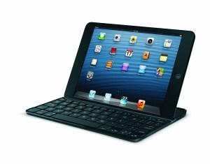 Un clavier Logitech pour l'iPad mini: l'Ultrathin Keyboard.