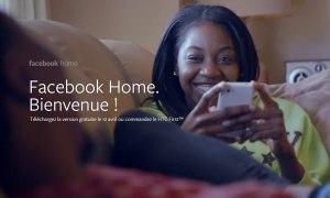 Facebook Home.