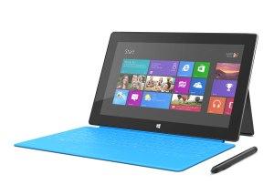 La Microsoft Surface Pro avec Windows 8.