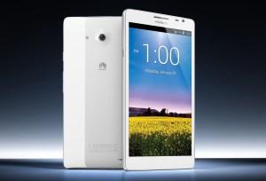 Le Huawei Ascend Mate: 6,1 pouces de diagonale.