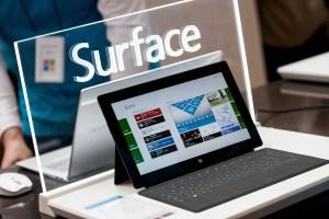 Microsoft Surface Pro: à la fois puissant notebook et ardoise tactile.
