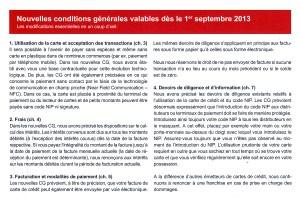 NFC sur smartphones: des conditions générales pour septembre au Credit Suisse.