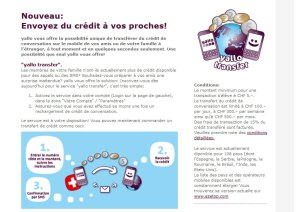 Yallo Transfer avec une commission royale de 15%. Attention!