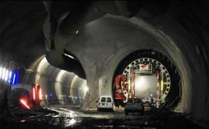 Le tunnel de base du Ceneri.