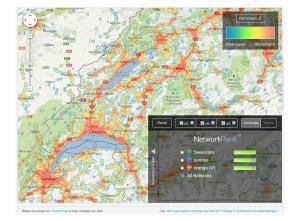 Open Signal: le must pour comparer les réseaux mobiles des opérateurs.