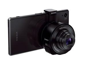 Sony Xperia Z1 avec l'optique QX10.