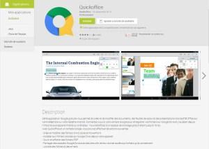 QuickOffice de Google désormais gratuit sur Android et iOS: