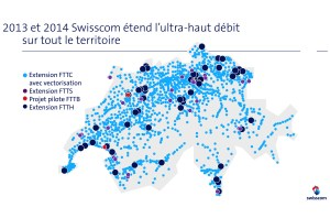 Swisscom veut accélérer l'internet dans tout le pays. Le consommateur n'a pas fini de payer!