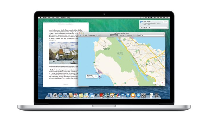 Mac OSX Mavericks.
