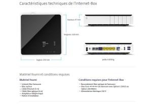 L'Internet Box de Swisscom pour surfer jusqu'à 1 Gigabit sur la fibre optique.