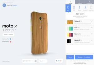 Le Moto X débarque en version bambou aux Etats-Unis.