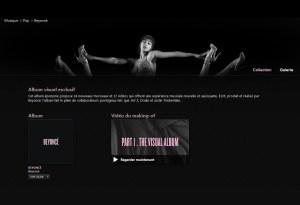 Le dernier album de Beyoncé cartonne sur iTunes d'Apple, premier magasin de musique au monde.