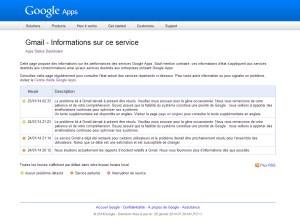Nouvelle panne mondiale pour Google.