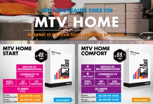 MTV Home par Sunrise.