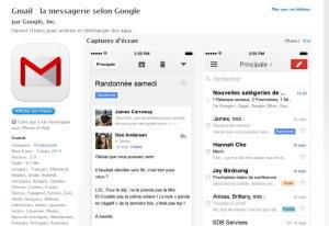 Gmail fait peau neuve sur iPhone et iPad.