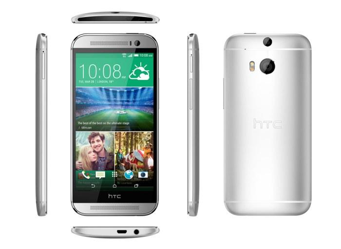 HTC a soigné le design de son One M8, son nouveau vaisseau amiral.