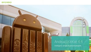 Android KitKat, selon Google.