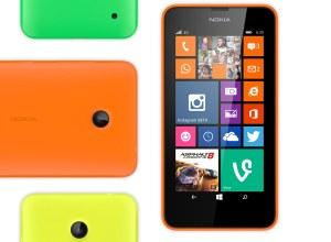 Le Nokia Lumia 630.