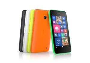 Le Nokia Lumia 630 avec double SIM.