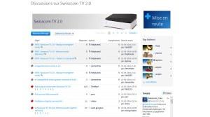 Swisscom TV 2.0: quelques soucis de jeunesse.