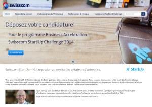 Le 2e Swisscom StartUp Challenge