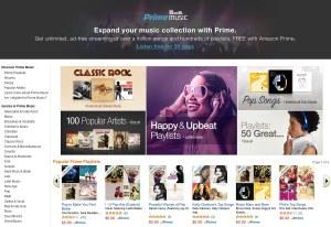 Amazon se lance dans le streaming musical.