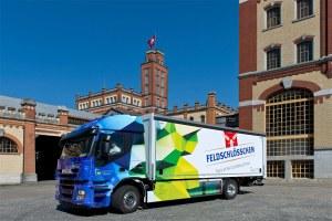 Feldschlösschen utilise le premier camion électrique de 18 tonnes de Suisse.