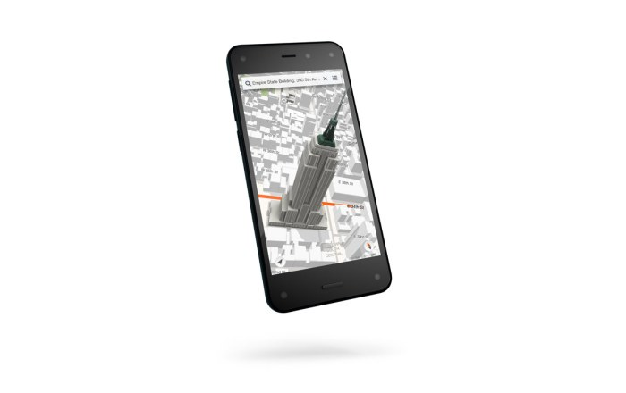 Le Fire Phone d'Amazon.