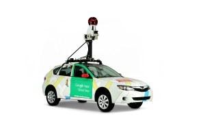 Une voiture de Google Street View.