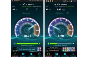 Infinity M: Swisscom tient le débit annoncé.