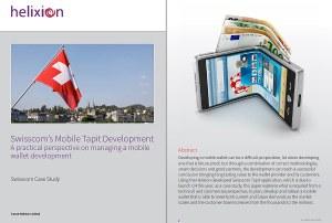 Paiement sans contact par NFC: Swisscom a eu besoin de l'aide d'Helixion.
