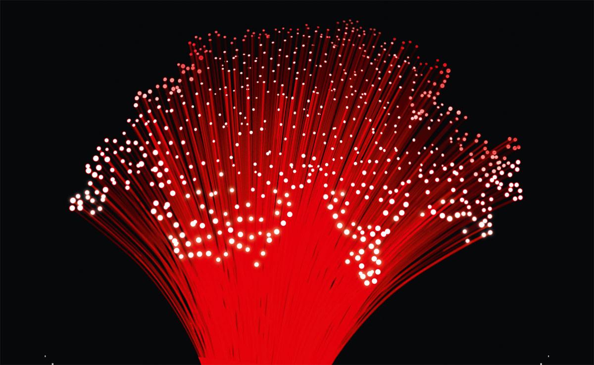 La fibre optique relie la Suisse. Illustration: Suissedigital.