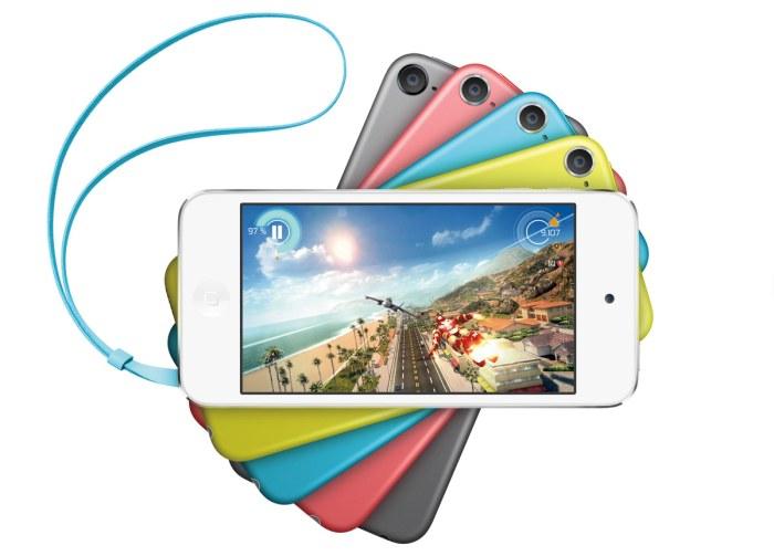L'iPod touch de 16Go est désormais disponible avec un appareil photo et dans de multiples couleurs.