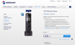 Le HD Phone Arosa.