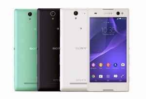 """Mode des selfies"": le Sony Xperia C3 tire son épingle du jeu."