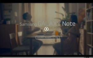 Galaxy Note 4: le teaser vidéo de Samsung.