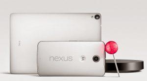 Android 5.0 Lollipop, par défaut sur les Nexus 9, Nexus 6 et Nexus Player.