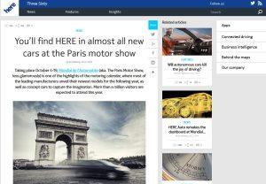 Here de Nokia: LA solution de cartographie?