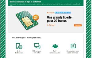 M-Budget Mobile One de la Migros: l'abonnement sans appareil subventionné.