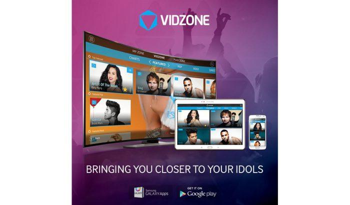 Samsung lance VidZone en Suisse.