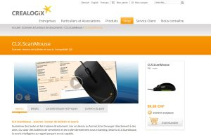 Crealogix ScanMouse.